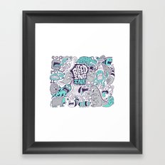 Bleeding Ink Framed Art Print