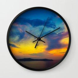 My sunset Wall Clock