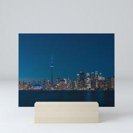 Toronto Blue Mini Art Print