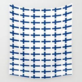 Flag of Finland 3 -finnish, Suomi, Sami,Finn,Helsinki,Tampere Wall Tapestry