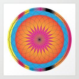 Mandala Art Art Print