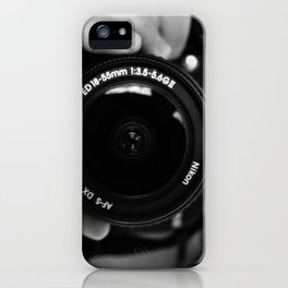 point of view iPhone Case