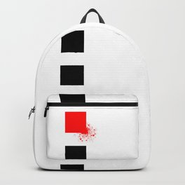 Don't Lose Control (Square) Backpack