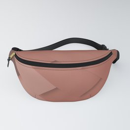 Terracotta pattern, layered like shingles, tiles or paint swatches you just cannot choose from! Fanny Pack