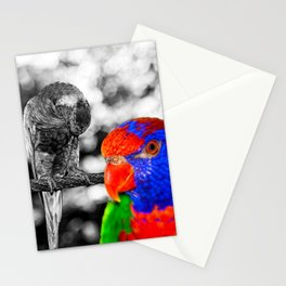 The bird in paradise Stationery Cards