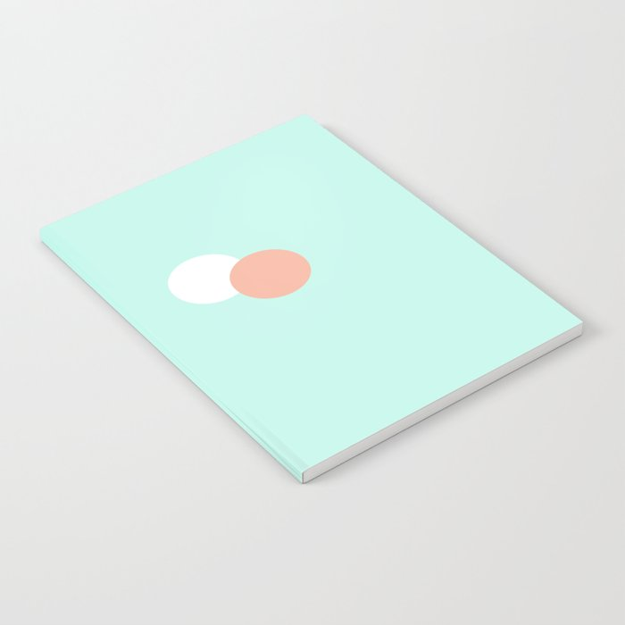 Turquoise & Coral (1) Notebook
