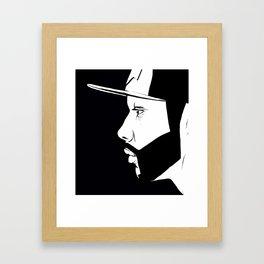 The Thinking Man Framed Art Print