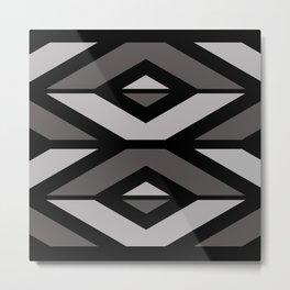 Elegant Decorative Pattern Metal Print