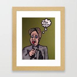 Iowa Caucus  Framed Art Print