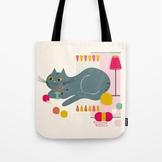 Cosy Cat Tote Bag