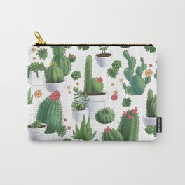 Succulent Cacti Carry-All Pouch