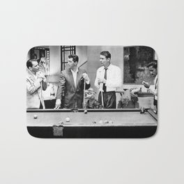 The Rat Pack - Shooting Pool Bath Mat
