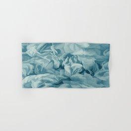 Soft Baby Blue Petal Ruffles Abstract Hand & Bath Towel