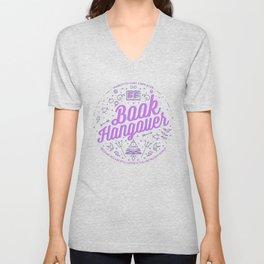 Book Hangover (Purple) Unisex V-Neck