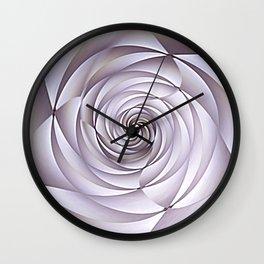 Abstract Rose Wall Clock