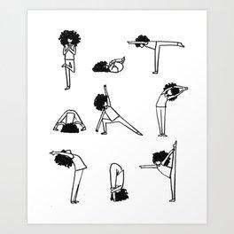 Froga Art Print