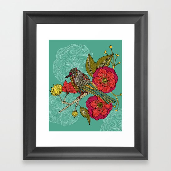 Contented Constance Framed Art Print