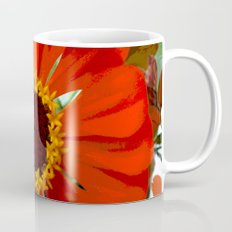 Red Zinia Mug