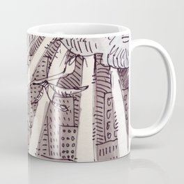 Suburban Summer Coffee Mug
