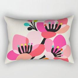 Cherry Blossoms Rectangular Pillow