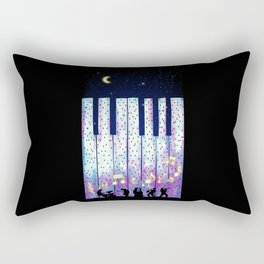 Harmony In The Night Rectangular Pillow