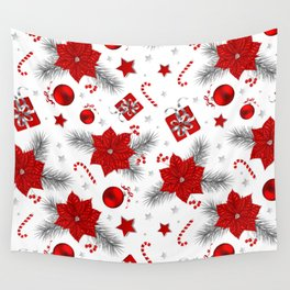 Christmas decoration pattern  Wall Tapestry