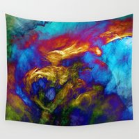 phoenix Wall Tapestries featuring Phoenix by George Michael