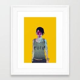 Helle Framed Art Print