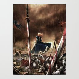 Anime Art - Unlimited Blades Poster
