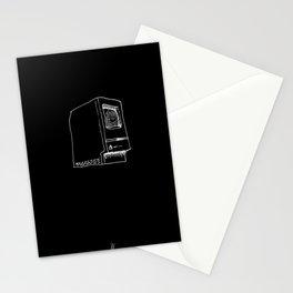 Macintosh on black Stationery Cards