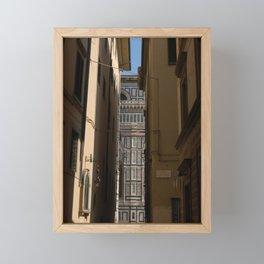 firenze - catedrale Framed Mini Art Print