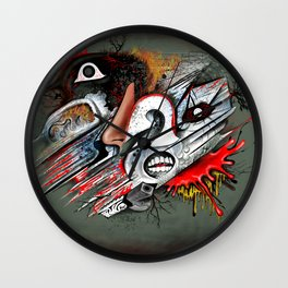"""A Man In Thought"" Wall Clock"