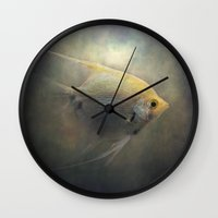 angel Wall Clocks featuring Angel by Pauline Fowler ( Polly470 )
