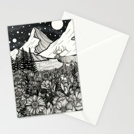 Elk Mountain Stationery Cards