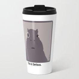 Professor Capybara III Travel Mug