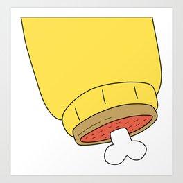 Arthur Clenched Fist Art Print
