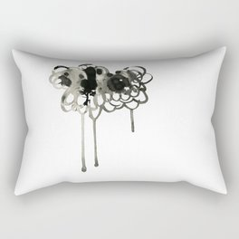 Thought Cloud Rectangular Pillow