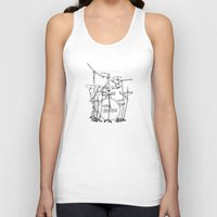 drums Tank Tops featuring The Police Drums by OUTSIDE VOICE