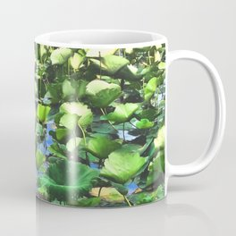 Lotus Blooms Among The Pads Coffee Mug