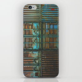 Container rouille 5 iPhone Skin