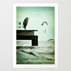 Leaning Into Afternoons Art Print