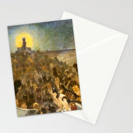"""Théophile Steinlen """"The Apotheosis of the Cats"""" Stationery Cards"""