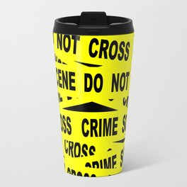 Crime Scene Tape Travel Mug