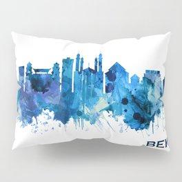 Bekasi Indonesia Skyline Blue Pillow Sham