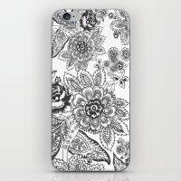 batik iPhone & iPod Skins featuring Batik by Tisha Haryanto