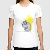 hamster T-shirts featuring hamster by Konstantina Louka