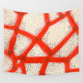 coral2 Wall Tapestry