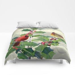 Spade's Cardinals Comforters