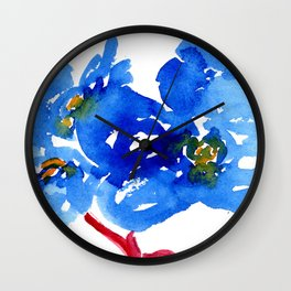 flower VIII Wall Clock