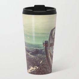Wanderlust Vintage Tourist Binoculars Travel Mug